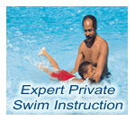 Expert Private Swim Instruction